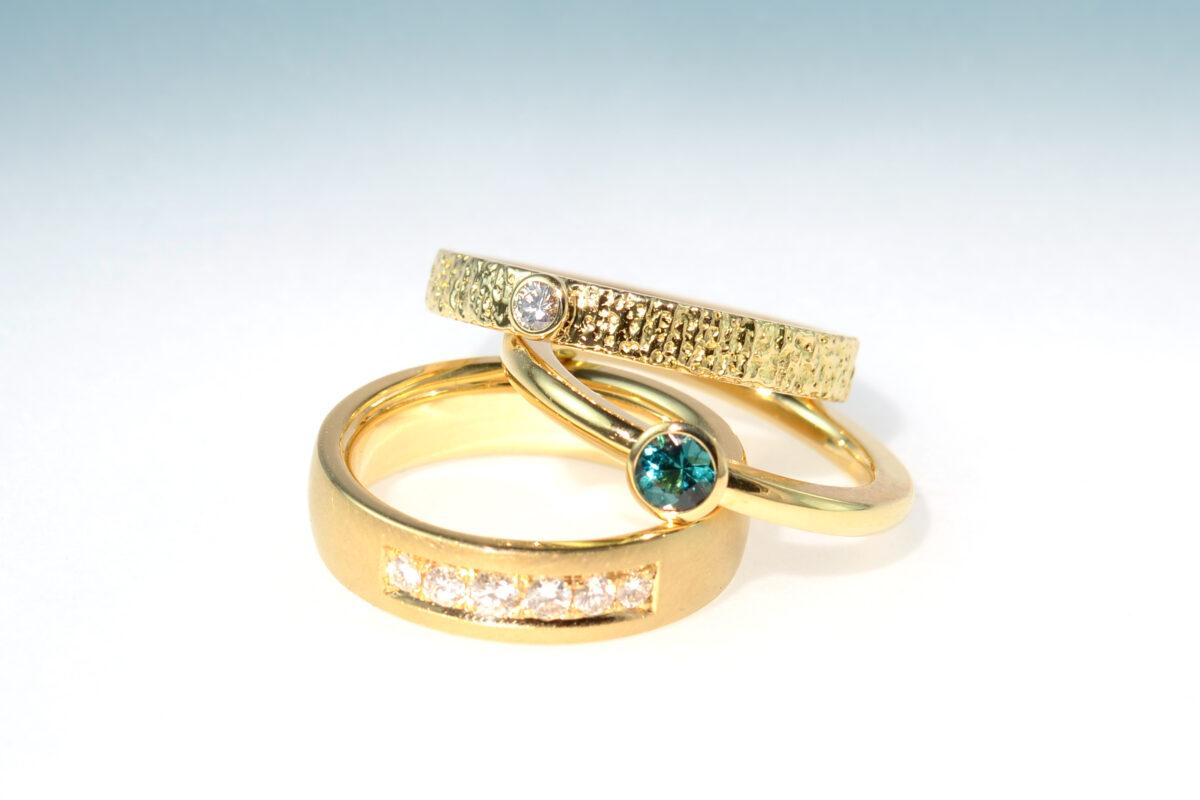 Ringe aus altgold einzeln