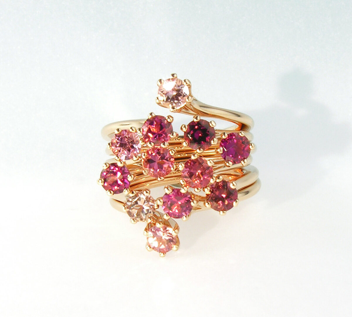 Ring Pink Turmalin