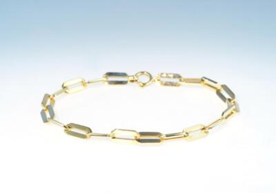 Bracelet gelbgold 50er