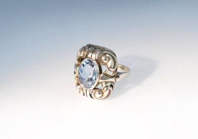 Ring silber arts and crafts