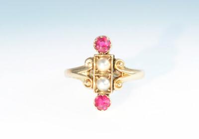 Ring synth rubin perle