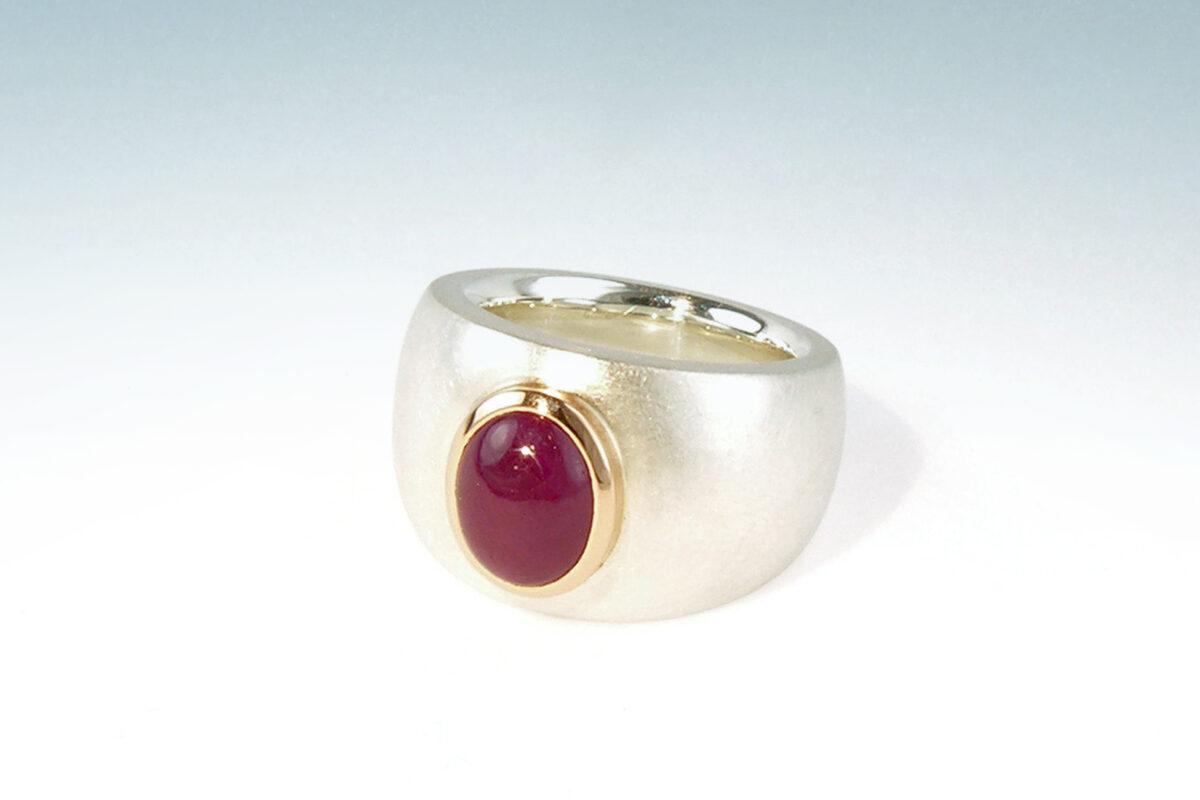 Silber rubin