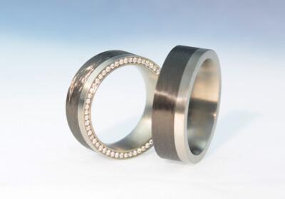 Carbon titan brill flach